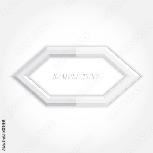 3d abstract background and hexagon icon design, vector eps10