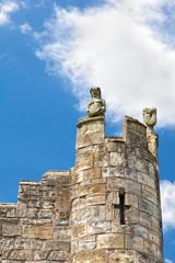 City walls of York, England