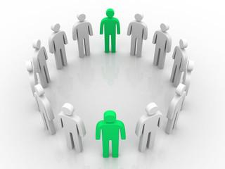 Teamwork concept..