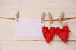 2 rote Herzen
