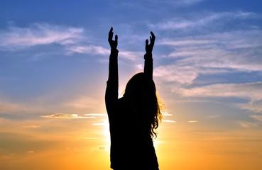 Pray in the sky
