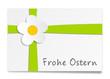 Geschenk Karte Frohe Ostern
