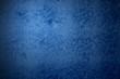 canvas print picture - Grunge Hintergrund - Steinwand blau