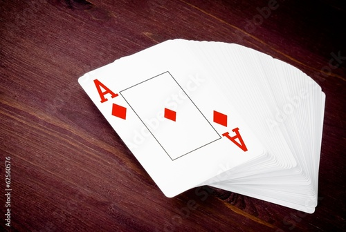 ace playing card, concept of poker game texas