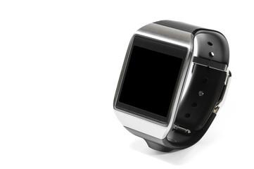 Smartwatch di lato isolato