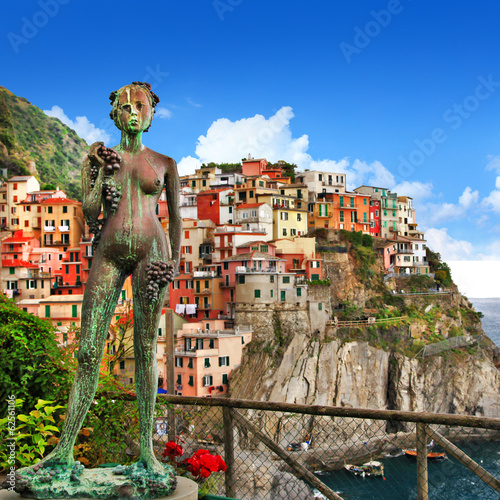 beautiful Monarola (Cinque terre) in Italy.