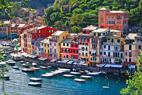 Tuinposter Kust incredible Italia series- luxury Portofino, Liguria