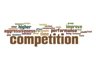 Competition word cloud