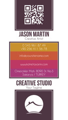 Real estate building business card