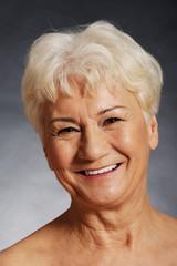 Nude 60 year old spa woman