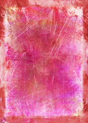 pink purple painting