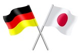 Flags : Japan and Germany