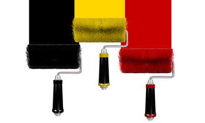 Farbroller Belgien