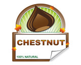 Chestnut's label form marketplace