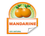 Mandarine's label for marketplace