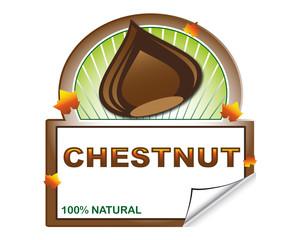Chestnut's label form marketplace