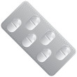 Packing oval tablets