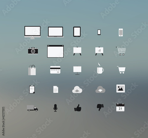 Computing technolgy and application icons