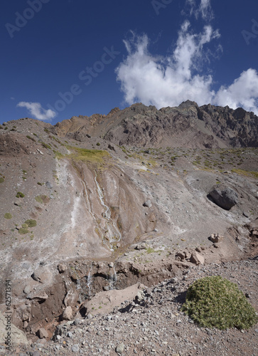 Andes mountain  landscape
