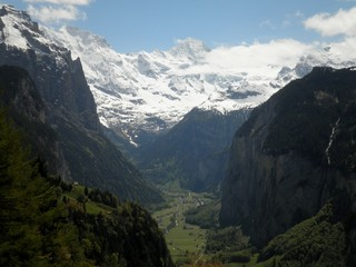 View of Lauterbrunnen Valley
