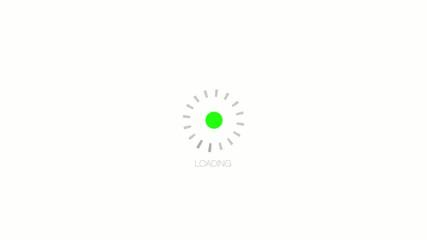 Circular loading bar
