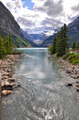 Lake Louise and Rocky mountains - Canada