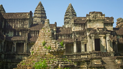The largest Buddhist temple complex in the world - Angkor Wat