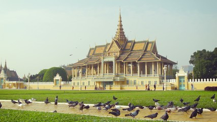 Royal Palace, Moonlight Pavilion in Phnom Penh, Cambodia
