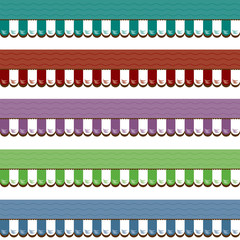 Shop Awnings Graphic Various Colors