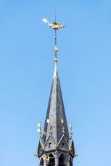 The belfry (French: beffroi) of Tournai, Belgium