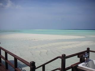 Republic of Maldives Beach Island