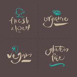 Vegetarian Collection - Calligraphy