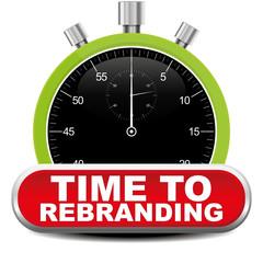 TIME TO REBRANDING ICON