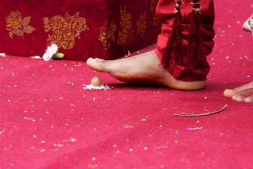 Seven steps wedding ritual