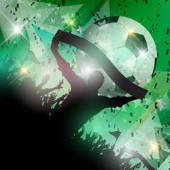 Soccer crowd background