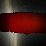 Cracked grunge metal and leather background