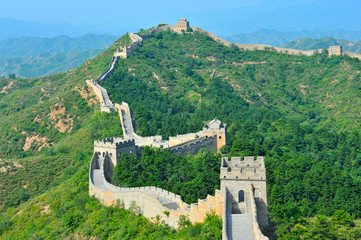 Great Wall of China in Summer © wusuowei