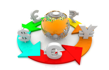 Global Currencies exchange .