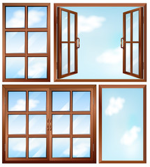 Different window designs