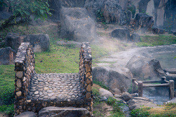 Fang Hot Spring National Park is part of Doi Pha Hom Pok Nationa