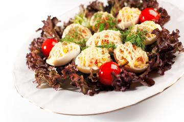 deviled eggs salad