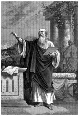 Ancient Philosopher (or early Christian Preacher)