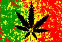 Flaga Jamajki Rastafarianie