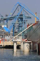 Port de commerce de Kergroise - Lorient (Morbihan)