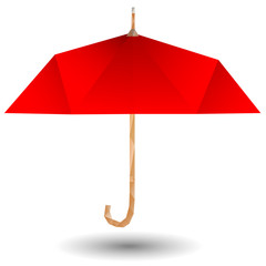 Red umbrella icon