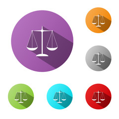 LEGAL Buttons (justice law rights contract terms and conditions)