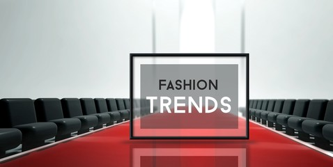 Red carpet runway Fashion trends
