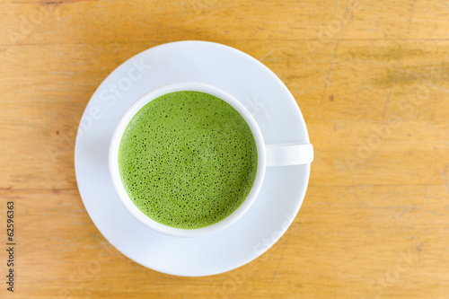 Matcha Latte Cup of green tea