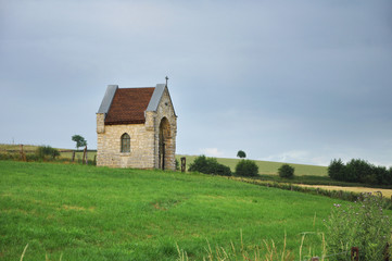 Small field chapel in Dutch Limburg