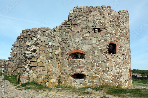 Hammershus ruins on the Danish island Borbholm